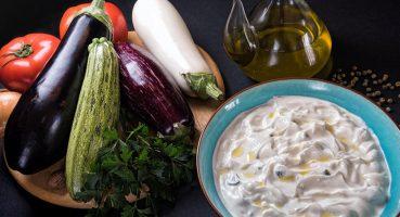 Yoğurtlu Patlıcan Salatası