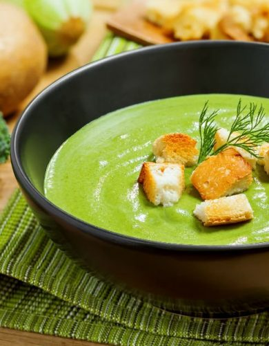 Yeşil Detoks Çorbası